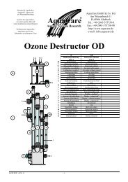 Ozone Destructor OD - Aquacare Gmbh & Co. KG
