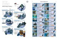 WTW Product Families… - AquaCare GmbH & Co. KG