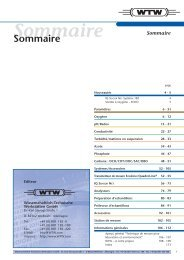 Sommaire - Aquacare Gmbh & Co. KG