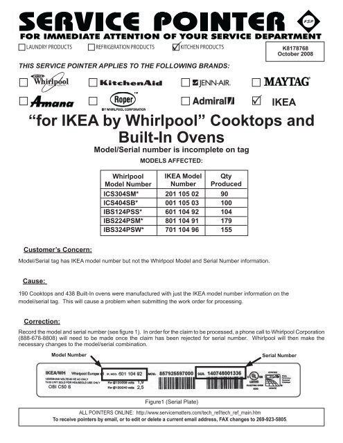 For Ikea By Whirlpool Cooktops And Built In Ovens