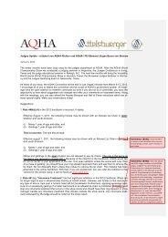 AQHA Judges Update 01_2012