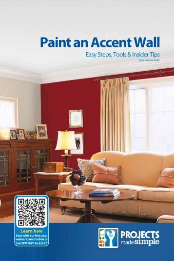 Paint an Accent Wall - Walmart