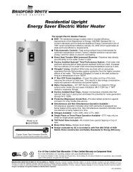Residential Upright Energy Saver Electric Water Heater