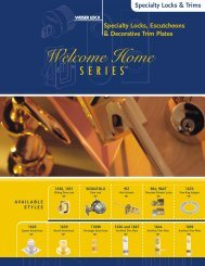 Specialty Locks & Trims