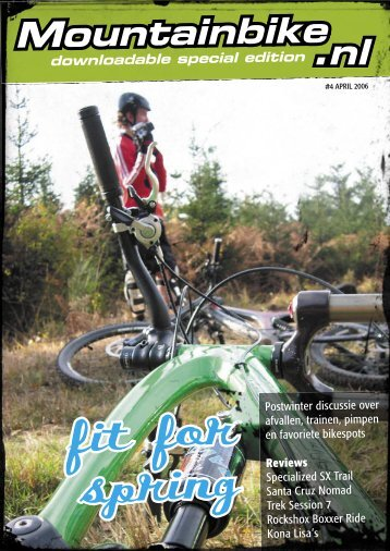 fit for spring - Mountainbike.nl