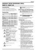 Notice d'utilisation - Service après vente - Dewalt - Page 5