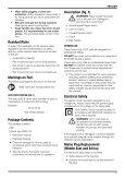 Notice d'utilisation - Service après vente - Dewalt - Page 7