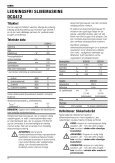 N139499 man cdls grinder DCG412 Euro.indd - Service - DeWalt - Page 6