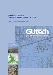 urban planning and architectural design - RWTH Aachen - RWTH ...