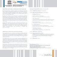 UNESCO-Lehrstuhl für Stadt- und Kulturlandschaften im Welterbe ...