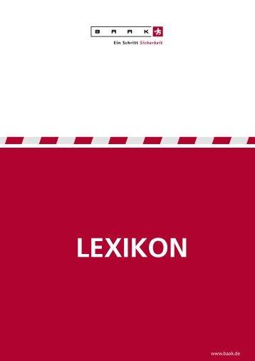 LEXIKON - arbeitsschutz-mueller.de