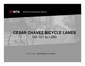 CESAR CHAVEZ BICYCLE LANES - Streetsblog San Francisco
