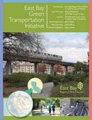 East Bay Green Transportation Initiative - East Bay Regional Park ...
