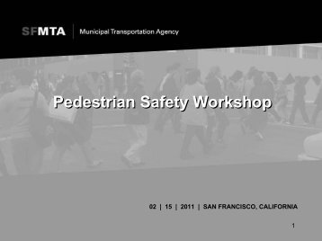 Pedestrian Action Plan - Streetsblog San Francisco