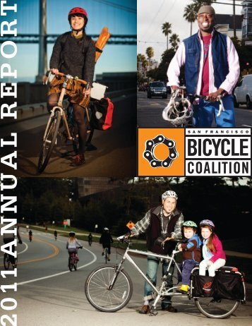 Download the 2011 Annual Report - San Francisco Bicycle Coalition