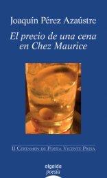 El precio de una cena en Chez Maurice - sgfm.elcorteing...