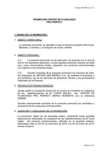 PROMOCIONES DEPILADORAS ROWENTA - sgfm.elcorteing...