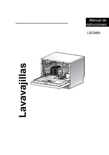 Lavavajillas Manual de instrucciones - sgfm.elcorteing...