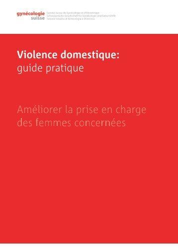 Violence domestique - SGGG