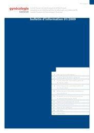 Download PDF: Bulletin d'information 01/2009 - SGGG