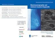 Mammasonographie und minimal-invasive Diagnostik