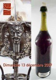 Dimanche 13 décembre 2009 - Ventes aux enchères à Saint ...