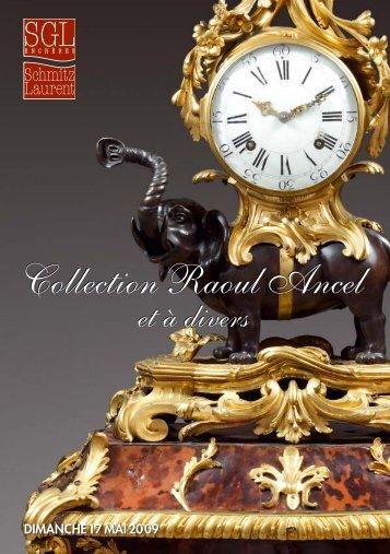 Collection Raoul Ancel - Ventes aux enchères à Saint-Germain-en ...
