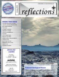 January 2013 - The Southeastern Geophysical Society