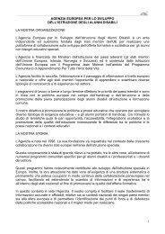 agenzia_europea_brochure - Progetto ICT2 - Siti web cooperativi ...