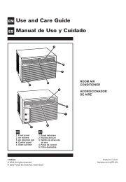 Use and Care Guide Manual de Uso y Cuidado