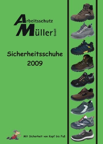 Schuhkatalog 2008 2009 - arbeitsschutz-mueller.de