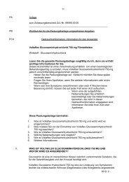 11 PA Anlage zum Zulassungsbescheid Zul.-Nr. 69090.00.00 PB ...