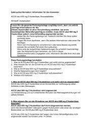 Information für den Anwender ACC® akut 600 mg Z Hustenlöser ...