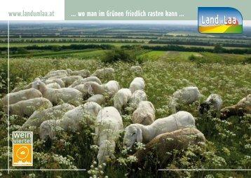 www.landumlaa.at ... wo man im Grünen friedlich rasten kann ...