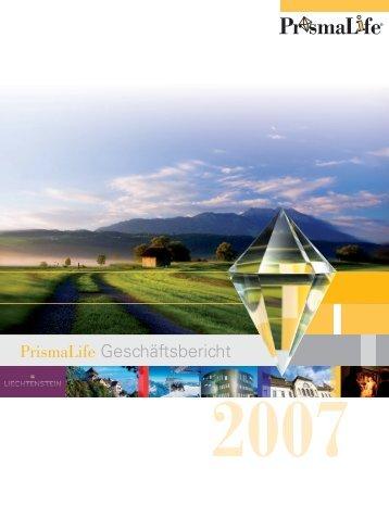 Prismalife Geschäftsbericht