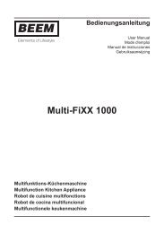 Multi-FiXX 1000 - Beem