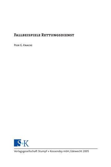 als PDF-Datei herunterladen - Stumpf und Kossendey Verlag