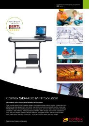Contex SD4430 MFP Solution