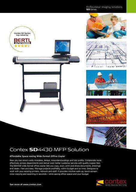 Contex SD4430 MFP Solution