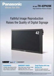 Faithful Image Reproduction Raises the Quality of ... - DS-Display A/S