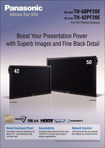 Boost Your Presentation Power with Superb ... - DS-Display A/S