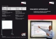 Interaktivt whiteboard - DS-Display A/S