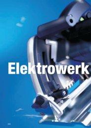 Hohe Leistung durch bürstenlose Motoren - Keller-Maschinen