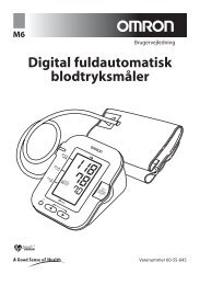Digital fuldautomatisk blodtryksmåler - Mediq Danmark A/S
