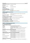 SIKKERHEDSDATABLAD DAX Alcogel 85 - Staples - Page 5