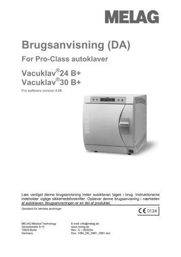 Brugsanvisning (DA) - Mediq Danmark A/S