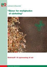 Debrisoft produktdatablad - Mediq Danmark A/S