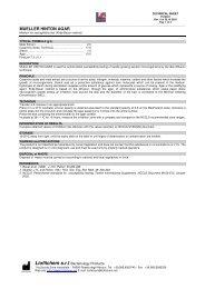 MUELLER HINTON AGAR - Mediq Danmark A/S