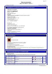 Sikkerhedsdatablad - Mediq Danmark A/S