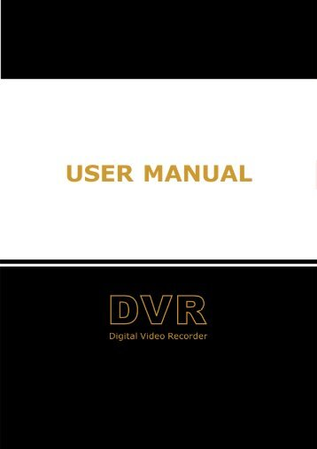 User Manual - Monacor